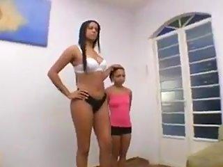 Reife brasilianische Bigtits